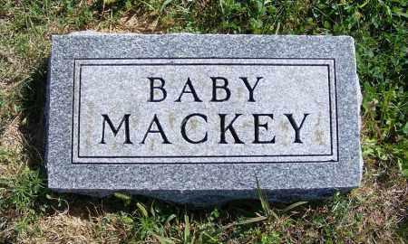 MACKEY, BABY - Frontier County, Nebraska | BABY MACKEY - Nebraska Gravestone Photos