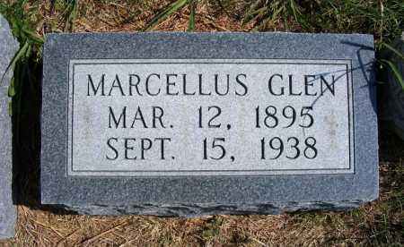 MACKEY, MARCELLUS GLEN - Frontier County, Nebraska | MARCELLUS GLEN MACKEY - Nebraska Gravestone Photos