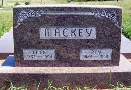 MACKEY, RAY - Frontier County, Nebraska | RAY MACKEY - Nebraska Gravestone Photos