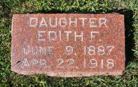 MALONEY, EDITH F. - Frontier County, Nebraska | EDITH F. MALONEY - Nebraska Gravestone Photos