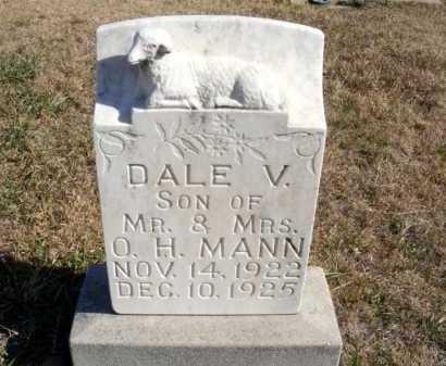 MANN, DALE V. - Frontier County, Nebraska | DALE V. MANN - Nebraska Gravestone Photos