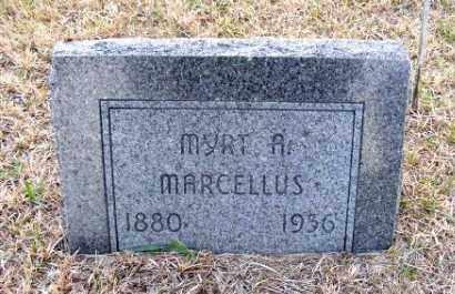 MARCELLUS, MYRT A. - Frontier County, Nebraska | MYRT A. MARCELLUS - Nebraska Gravestone Photos