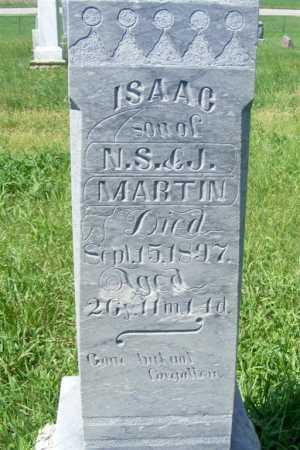 MARTIN, ISAAC - Frontier County, Nebraska | ISAAC MARTIN - Nebraska Gravestone Photos