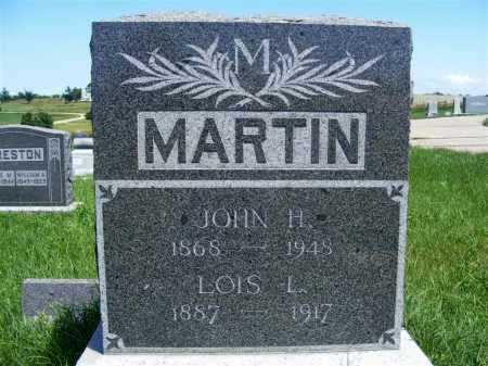 MARTIN, JOHN H. - Frontier County, Nebraska | JOHN H. MARTIN - Nebraska Gravestone Photos
