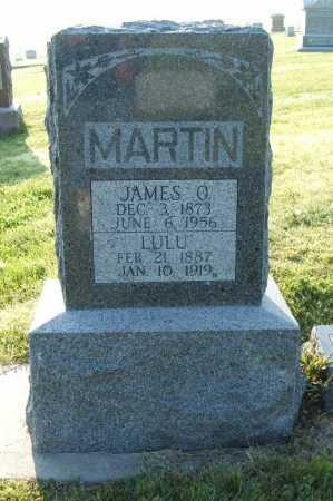 MARTIN, LULU - Frontier County, Nebraska | LULU MARTIN - Nebraska Gravestone Photos