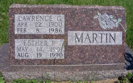 MARTIN, ESTHER P. - Frontier County, Nebraska | ESTHER P. MARTIN - Nebraska Gravestone Photos