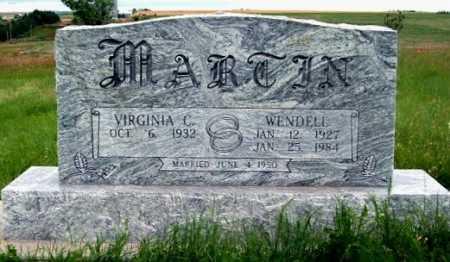 MARTIN, WENDELL - Frontier County, Nebraska | WENDELL MARTIN - Nebraska Gravestone Photos