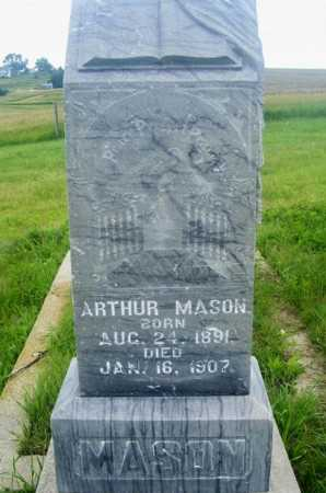 MASON, ARTHUR - Frontier County, Nebraska | ARTHUR MASON - Nebraska Gravestone Photos