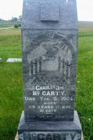 MCCARTY, CHARLES O. - Frontier County, Nebraska | CHARLES O. MCCARTY - Nebraska Gravestone Photos