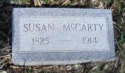 MCCARTY, SUSAN - Frontier County, Nebraska | SUSAN MCCARTY - Nebraska Gravestone Photos
