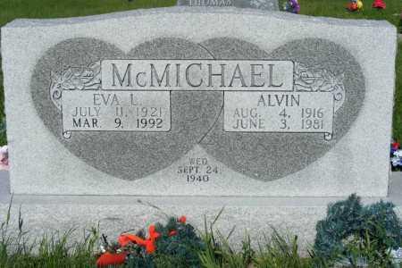 MCMICHAEL, EVA L. - Frontier County, Nebraska | EVA L. MCMICHAEL - Nebraska Gravestone Photos