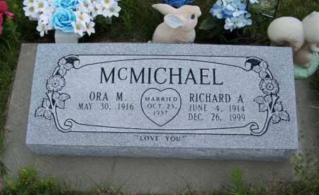 MCMICHAEL, RICHARD A. - Frontier County, Nebraska | RICHARD A. MCMICHAEL - Nebraska Gravestone Photos