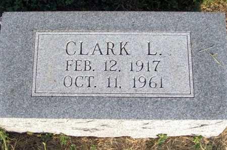 MCNICKLE, CLARK L. - Frontier County, Nebraska   CLARK L. MCNICKLE - Nebraska Gravestone Photos