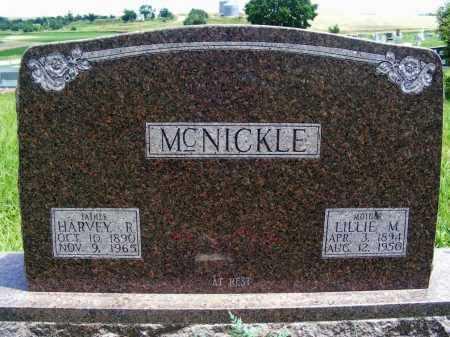 MCNICKLE, HARVEY R. - Frontier County, Nebraska | HARVEY R. MCNICKLE - Nebraska Gravestone Photos