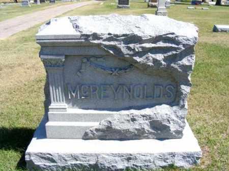 MCREYNOLDS, FAMILY - Frontier County, Nebraska | FAMILY MCREYNOLDS - Nebraska Gravestone Photos