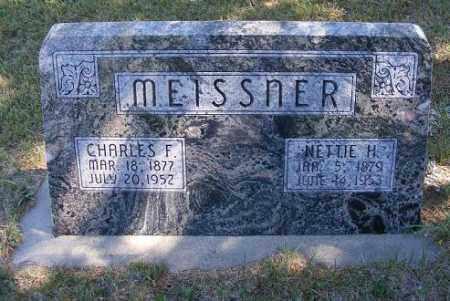 MEISSNER, NETTIE H. - Frontier County, Nebraska | NETTIE H. MEISSNER - Nebraska Gravestone Photos