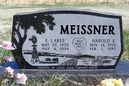 MEISSNER, E. LAREE - Frontier County, Nebraska | E. LAREE MEISSNER - Nebraska Gravestone Photos
