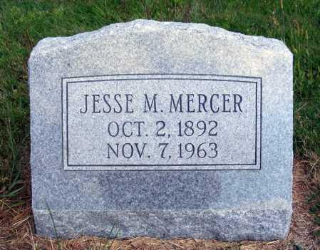 MERCER, JESSE M. - Frontier County, Nebraska | JESSE M. MERCER - Nebraska Gravestone Photos