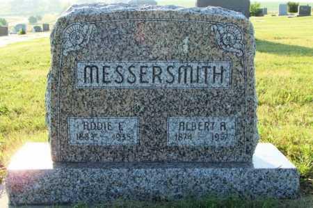 MESSERSMITH, ADDIE E. - Frontier County, Nebraska   ADDIE E. MESSERSMITH - Nebraska Gravestone Photos