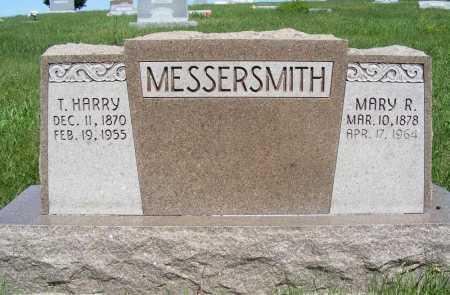 MESSERSMITH, MARY R. - Frontier County, Nebraska | MARY R. MESSERSMITH - Nebraska Gravestone Photos