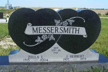 ADKISSON MESSERSMITH, ZELLA L. - Frontier County, Nebraska | ZELLA L. ADKISSON MESSERSMITH - Nebraska Gravestone Photos