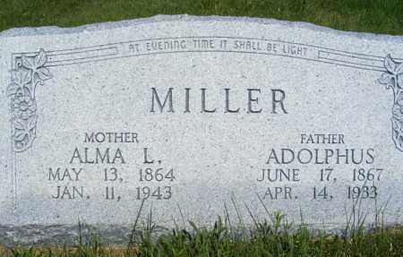 SHAW MILLER, ALMA L. - Frontier County, Nebraska | ALMA L. SHAW MILLER - Nebraska Gravestone Photos