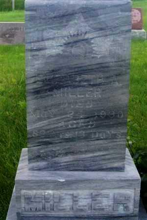 BEAMAN MILLER, ELIZABETH A. - Frontier County, Nebraska | ELIZABETH A. BEAMAN MILLER - Nebraska Gravestone Photos