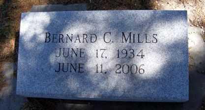 MILLS, BERNARD C. - Frontier County, Nebraska   BERNARD C. MILLS - Nebraska Gravestone Photos