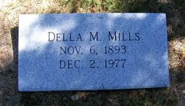 MILLS, DELLA M. - Frontier County, Nebraska | DELLA M. MILLS - Nebraska Gravestone Photos