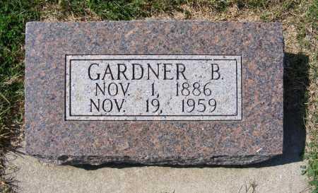 MITCHELL, GARDNER B. - Frontier County, Nebraska   GARDNER B. MITCHELL - Nebraska Gravestone Photos