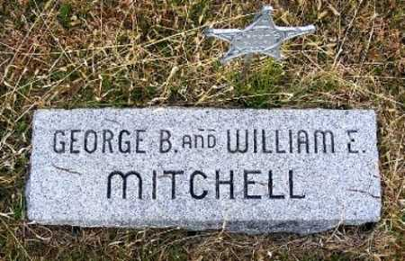 MITCHELL, WILLIAM E. - Frontier County, Nebraska | WILLIAM E. MITCHELL - Nebraska Gravestone Photos