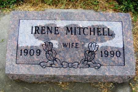 MITCHELL, IRENE - Frontier County, Nebraska | IRENE MITCHELL - Nebraska Gravestone Photos