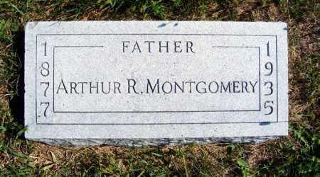 MONTGOMERY, ARTHUR R. - Frontier County, Nebraska | ARTHUR R. MONTGOMERY - Nebraska Gravestone Photos