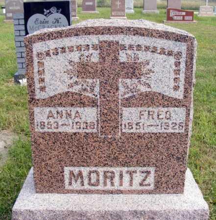 MORITZ, FRED - Frontier County, Nebraska | FRED MORITZ - Nebraska Gravestone Photos