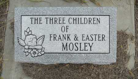MOSLEY, CHILDREN - Frontier County, Nebraska   CHILDREN MOSLEY - Nebraska Gravestone Photos