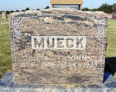 MUECK, JULIA - Frontier County, Nebraska   JULIA MUECK - Nebraska Gravestone Photos