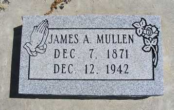 MULLEN, JAMES A. - Frontier County, Nebraska | JAMES A. MULLEN - Nebraska Gravestone Photos