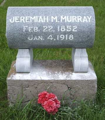 MURRAY, JEREMIAH M. - Frontier County, Nebraska | JEREMIAH M. MURRAY - Nebraska Gravestone Photos