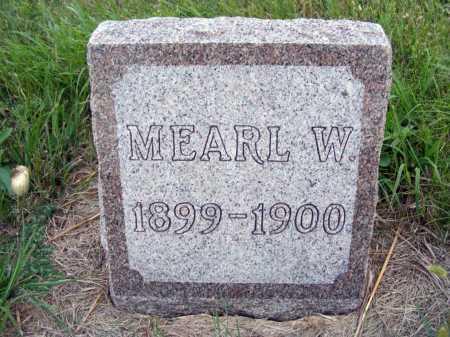 NICHOLS, MEARL W. - Frontier County, Nebraska | MEARL W. NICHOLS - Nebraska Gravestone Photos