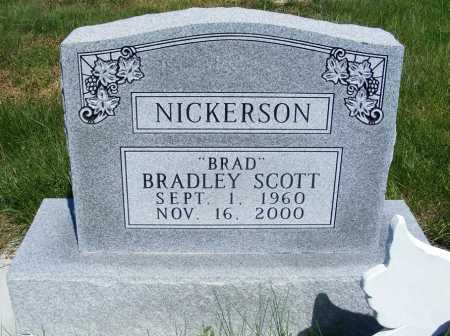 NICKERSON, BRADLEY SCOTT - Frontier County, Nebraska | BRADLEY SCOTT NICKERSON - Nebraska Gravestone Photos