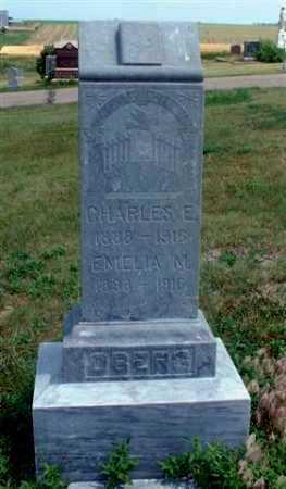 OBERG, EMELIA M. - Frontier County, Nebraska | EMELIA M. OBERG - Nebraska Gravestone Photos