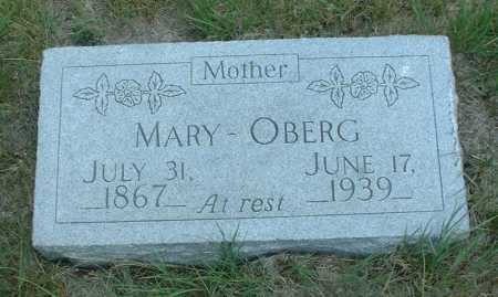 PETERSON OBERG, MARY - Frontier County, Nebraska | MARY PETERSON OBERG - Nebraska Gravestone Photos
