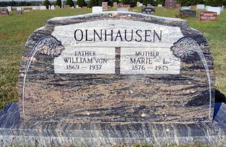 OLNHAUSEN, WILLIAM VON - Frontier County, Nebraska   WILLIAM VON OLNHAUSEN - Nebraska Gravestone Photos