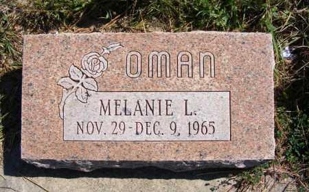 OMAN, MELANIE L. - Frontier County, Nebraska | MELANIE L. OMAN - Nebraska Gravestone Photos