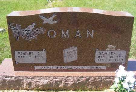 OMAN, SANDRA J. - Frontier County, Nebraska | SANDRA J. OMAN - Nebraska Gravestone Photos