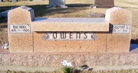 OWENS, AUGUSTA G. - Frontier County, Nebraska | AUGUSTA G. OWENS - Nebraska Gravestone Photos