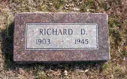 OWENS, RICHARD D. - Frontier County, Nebraska | RICHARD D. OWENS - Nebraska Gravestone Photos