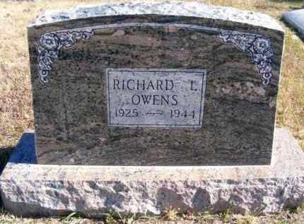 OWENS, RICHARD L. - Frontier County, Nebraska | RICHARD L. OWENS - Nebraska Gravestone Photos