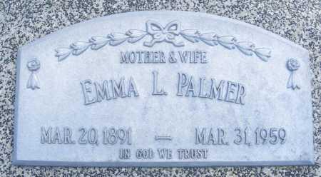 PALMER, EMMA L. - Frontier County, Nebraska | EMMA L. PALMER - Nebraska Gravestone Photos