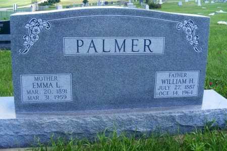 PALMER, WILLIAM H. - Frontier County, Nebraska | WILLIAM H. PALMER - Nebraska Gravestone Photos